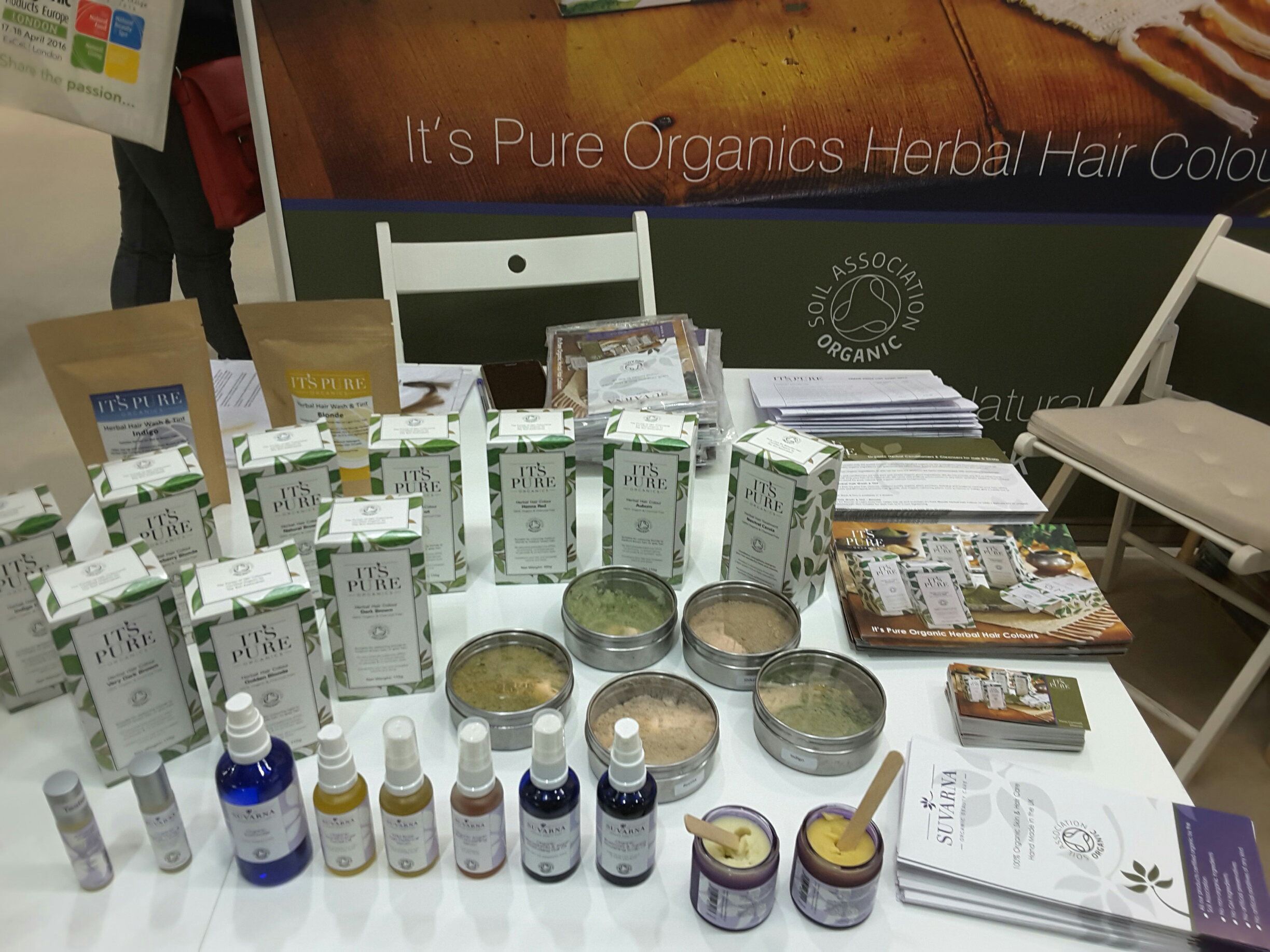 Our Products at the Trade Show